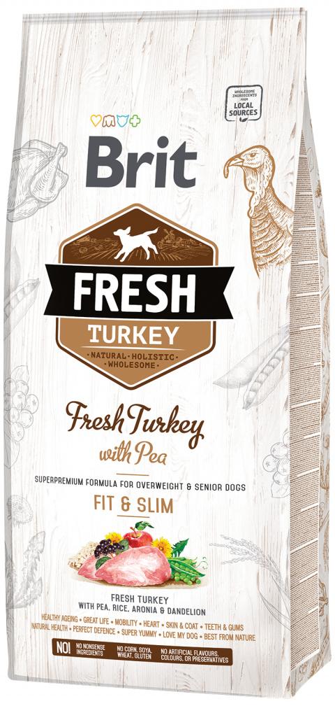 Brit Fresh Turkey with Pea Light Fit & Slim 12kg title=