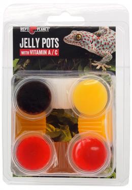 Repti Planet krmivo Jelly Pots Mixed 8ks