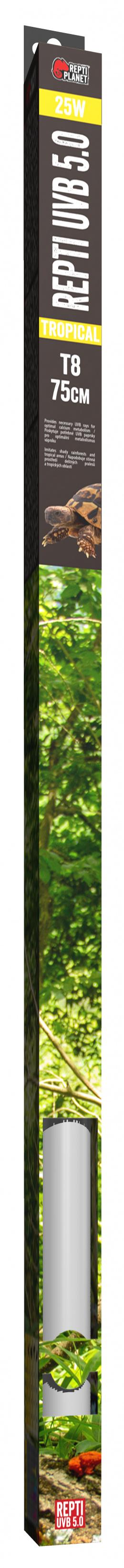 Repti Planet zářivka Fluorescent UVB 5.0 75cm 25W