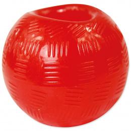 Hračka DOG FANTASY Strong míček gumový červený 6,3cm