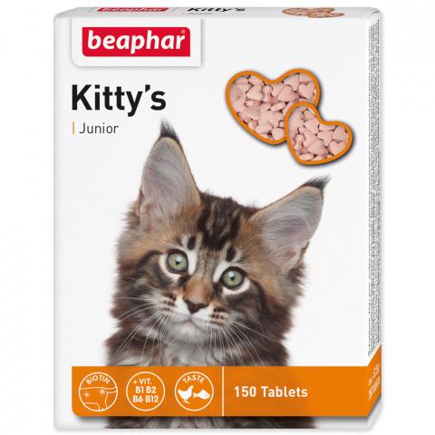 Pochoutka BEAPHAR Kittys Junior biotin 150 tablet