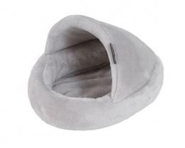 Pelíšek papuče pro hlodavce šedý