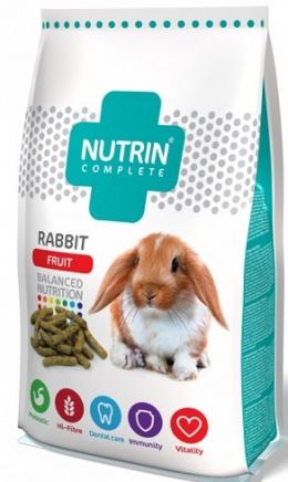 Krmivo Nutrin complete s ovocem pro králíky 400g