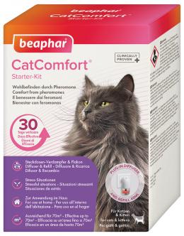 Sada pro kočky s difuzérem Beaphar CatComfort 48 ml + Náhradní náplň do difuzéru