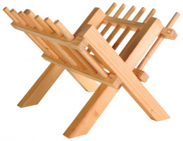 Dřevěné jesličky na seno 26×17×23cm