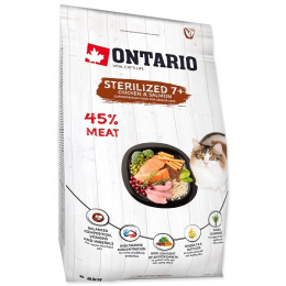 Ontario Cat Sterilised 7+ 2 kg