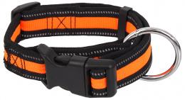 Obojek Dog Fantasy Neoprene S oranžový 2x27-37cm