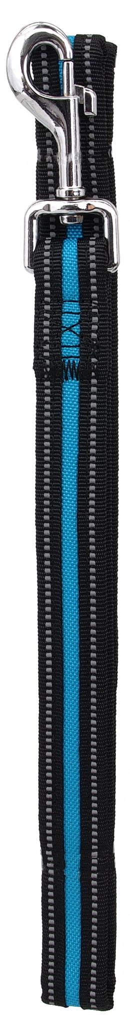 Vodítko Dog Fantasy Neoprene S modré 2x120cm