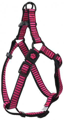 Postroj Active Dog Premium S růžový 1,5x45-63cm