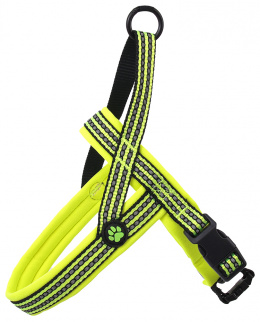 Postroj Active Dog Neoprene M limetka 2x58-70cm