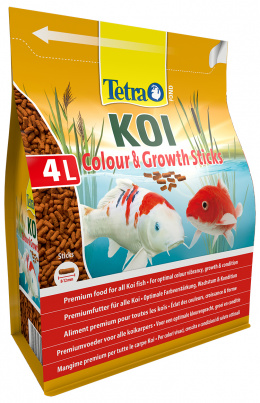 TETRA Pond Koi Sticks Growth&Color 4l