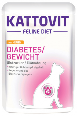 Kapsička Kattovit Diabetes kuře 85g