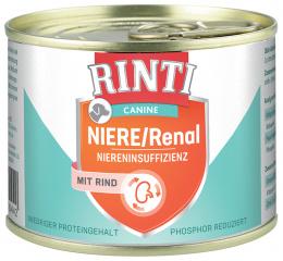 Konzerva Rinti Canine Niere/Renal hovězí 185g