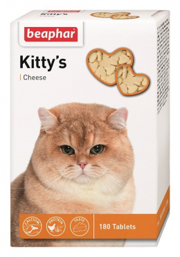 Pochoutka se sýrem Beaphar Kitty´s cheese 180 tablet