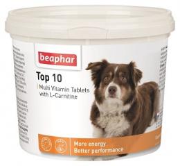 Multivitaminové tablety pro psy Beaphar TOP 10 750 ks