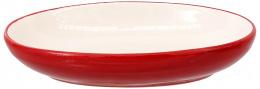 Miska Magic Cat keramická ovál potisk ryba červená 13x9x2,5cm 0,19l