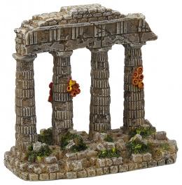 Dekorace akvarijní zřícenina chrámu 11x5,8x9,7cm