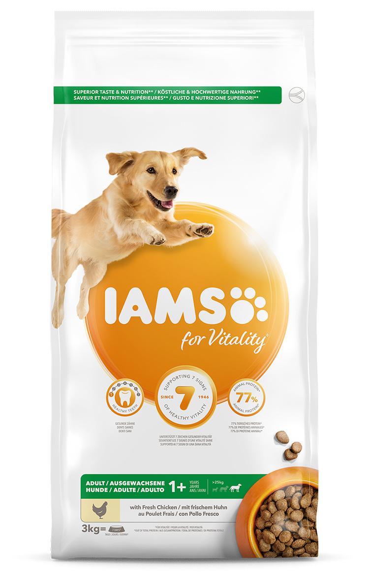 IAMS Dog Adult Large Chicken 3kg
