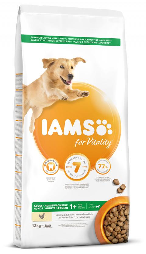 IAMS Dog Adult Large Chicken 12kg title=