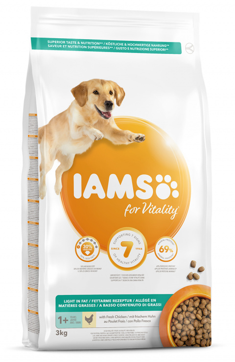 IAMS Dog Adult Weight Control 3kg title=