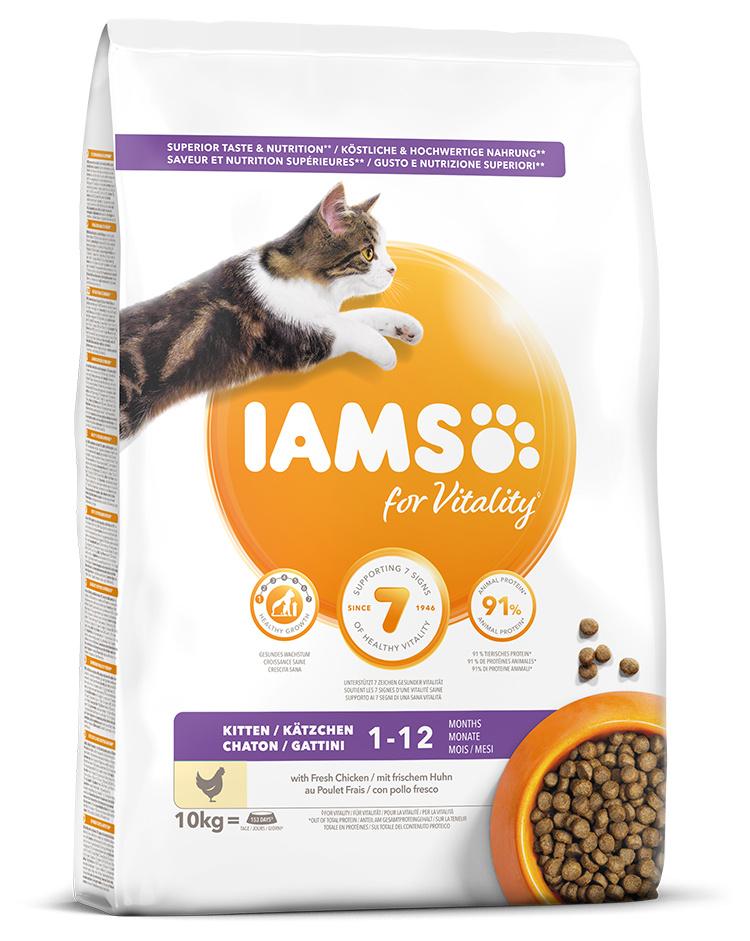 IAMS Cat Kitten Chicken 10kg