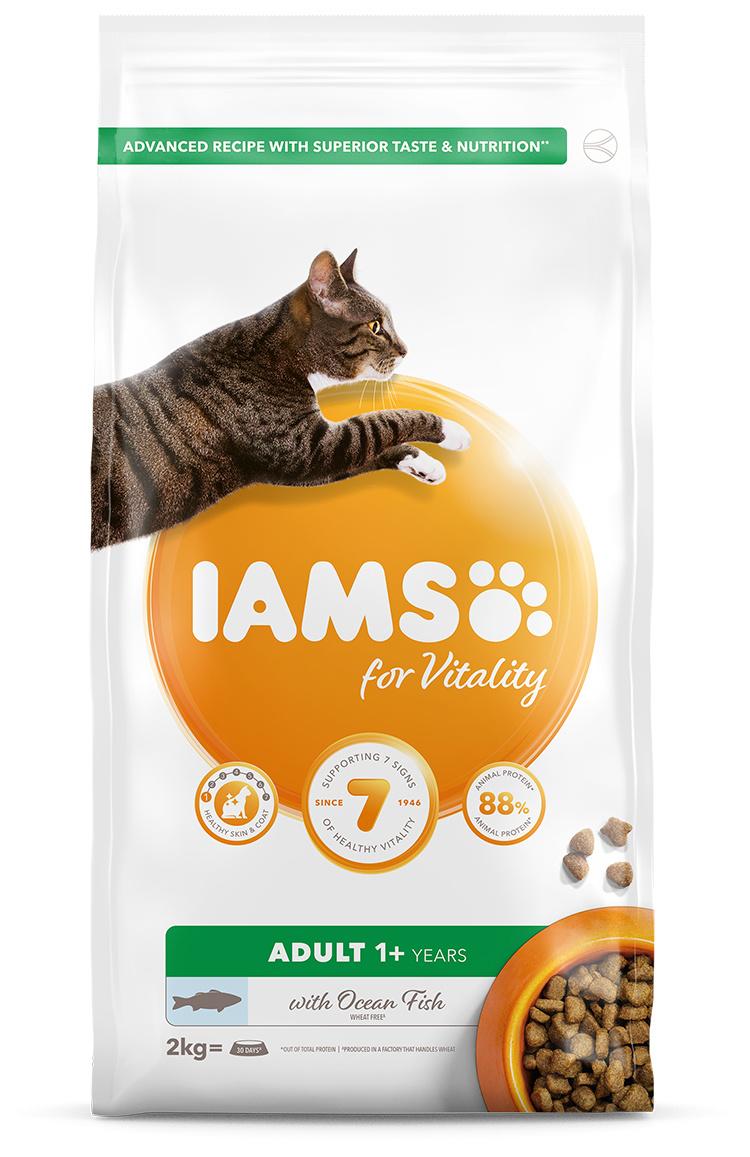 IAMS Cat Adult Ocean Fish 2kg