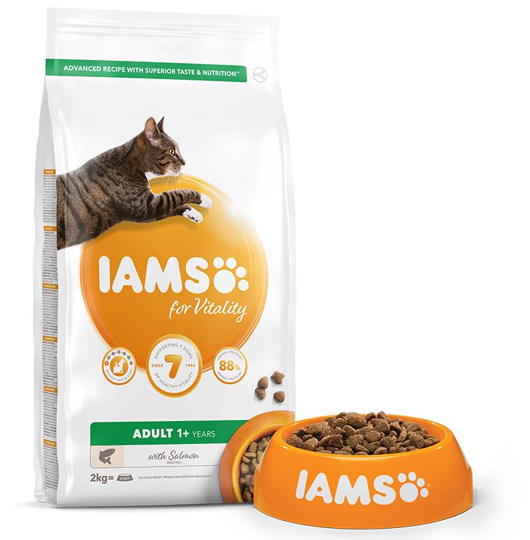 IAMS Cat Adult Salmon 2kg