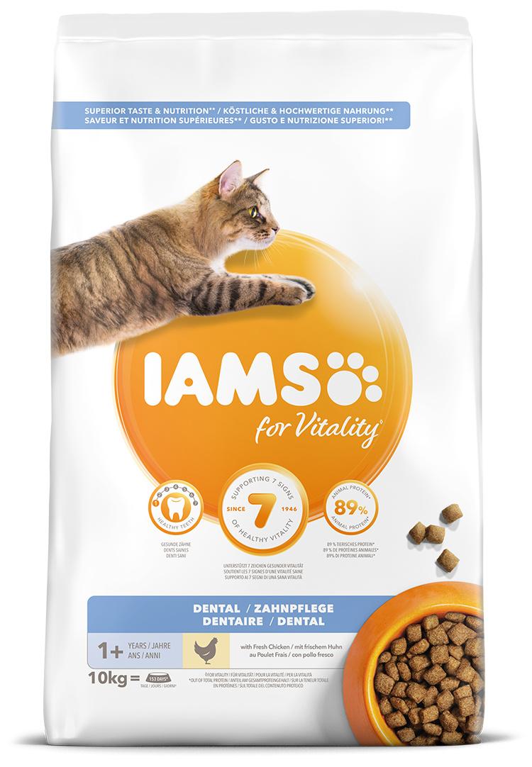 IAMS Cat Dental Adult Chicken 10kg