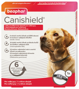 Antiparazitní obojek pro velké psy Beaphar Canishield® 65 cm