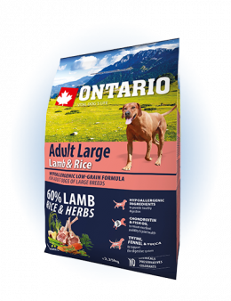 Ontario Adult Large Lamb & Rice