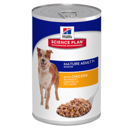 HILL'S Science Plan Canine Mature Adult Active Longevity Chicken - konzerva 370g