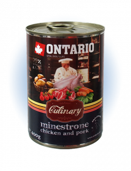 Konzerva Ontario Culinary Minestrone Chicken and Pork