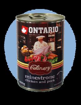 ONTARIO konzerva Culinary Minestrone Chicken and Pork
