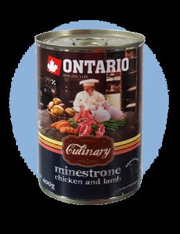 ONTARIO konzerva Culinary Minestrone Chicken and Lamb
