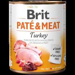 Konzerva Brit Paté & Meat Turkey 800g
