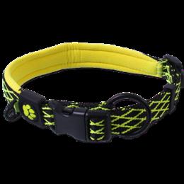 Obojek Active Dog Mystic M limetka 2x44-55cm
