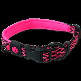 Obojek Active Dog Mystic M růžový 2x44-55cm