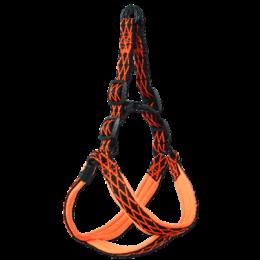 Postroj Active Dog Mystic L oranžový 2,5x58-70cm