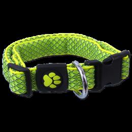 Obojek Active Dog Mellow S limetka 2,5x28-40cm