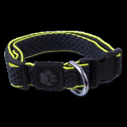 Obojek Active Dog Mellow S šedý 2,5x28-40cm