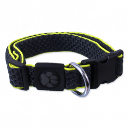 Obojek Active Dog Mellow S šedý 2,5x28-40cm