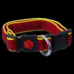 Obojek Active Dog Mellow M červený 2,5x35-51cm
