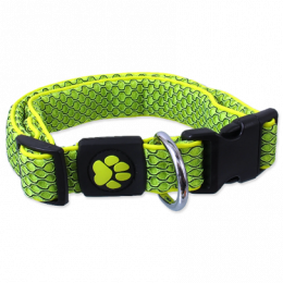 Obojek Active Dog Mellow M limetka 2,5x35-51cm