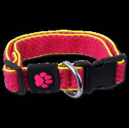 Obojek Active Dog Mellow M růžový 2,5x35-51cm