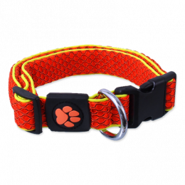 Obojek Active Dog Mellow M oranžový 2,5x35-51cm