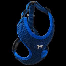 Postroj Active Dog Mellow L tm. modrý 2x45-65cm