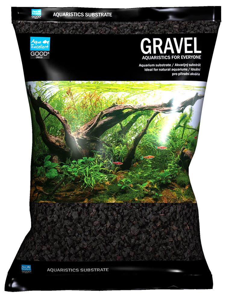 Drť Aqua Excellent černá 2-4 mm 3kg