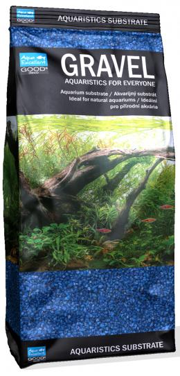 Písek Aqua Excellent modrý 1,6-2,2mm 1kg