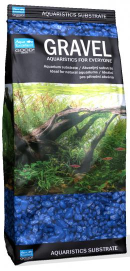 Písek Aqua Excellent modrý 3-6mm 1kg