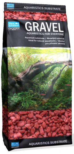 Písek Aqua Excellent svítivě růžová 3-6mm 1kg